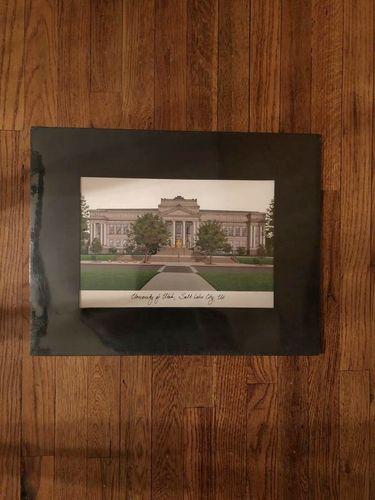 University of Utah pen & ink art, park bldg... for sale in Salt Lake City , UT
