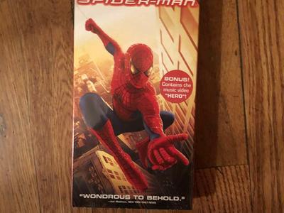 Spider-man, vintage new, still in wrapper