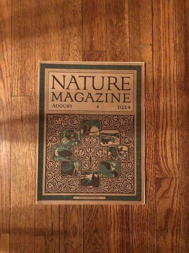 Vintage, antique Nature magazine 1924 for sale in Salt Lake City , UT