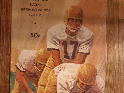U of U football antique program