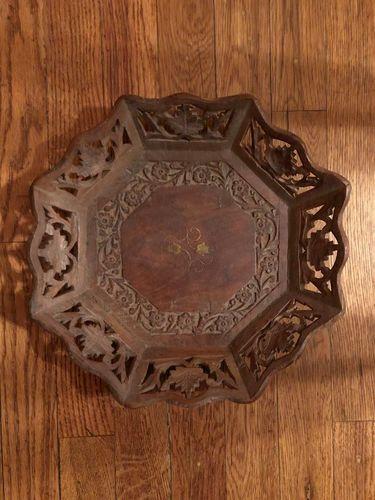 Carved wood bowl handmade in India for sale in Salt Lake City , UT