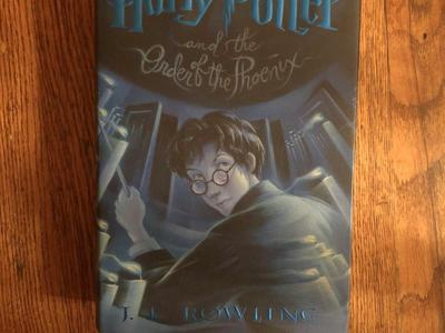 Harry Potter and the Order of the Phoenix... 1st American Edition, July, 2003 HCDJ