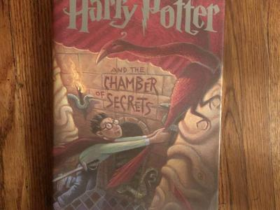 Harry Potter and the Chamber of Secrets, 1st American Edition, HCDJ