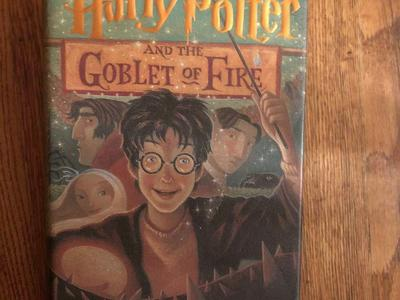 Harry Potter and the Goblet of Fire 1st (first) American edition July 2000 HCDJ