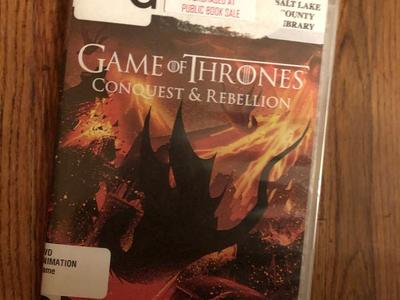 Game of Thrones... Conquest & Rebellion dvd