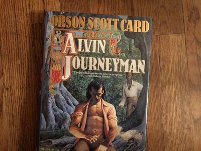 Orson Scott Card... Alvin Journeyman... 1st Edition