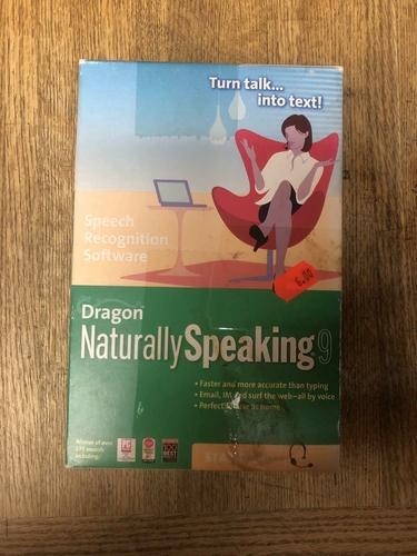 Dragon naturally speaking 9 cd rom for sale in Salt Lake City , UT