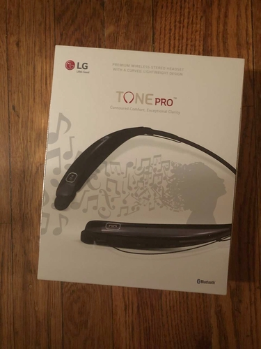 Premium wireless stereo headset... tone pro by LG, never opened for sale in Salt Lake City , UT