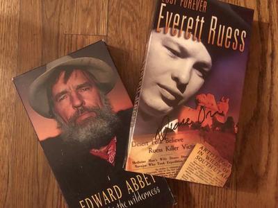 Edward Abby & Everett Ruess tapes