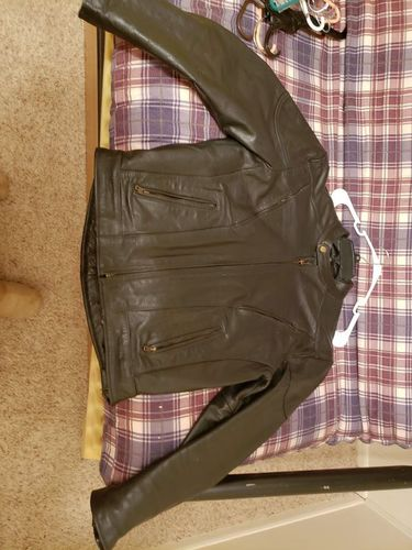 Leather motorcycle jacket men's 44 for sale in Tooele , UT