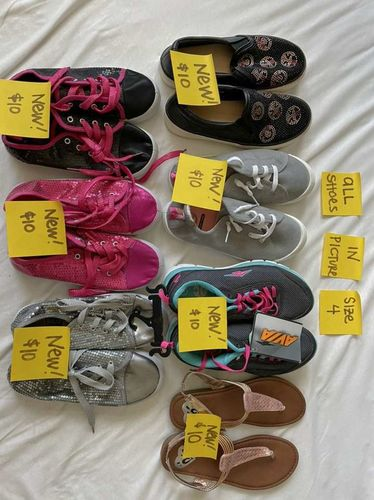 Girls Size 4 Shoes  - Multiple Pairs  for sale in South Weber , UT