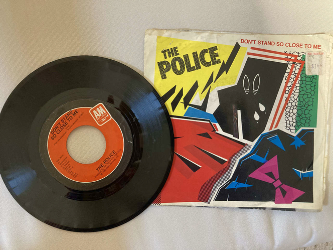 The Police 45 rpm vinyl record for sale in West Valley City , UT