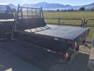 New Flat Bed Temco Steel Flatbed