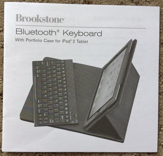Bluetooth Keyboard + Leather Case for iPad Tablets for sale in Draper , UT