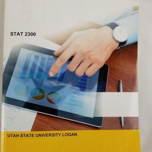 Business Statistics Text STAT 2300 Utah State USU for sale in Logan , UT