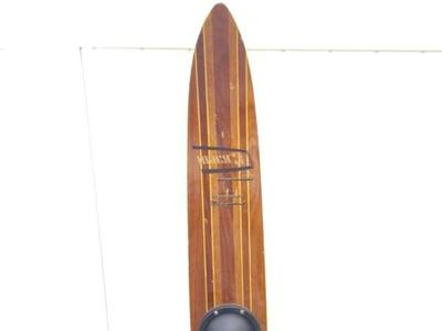 MACH 3 Western Wood Woody Water Ski World Champ 67