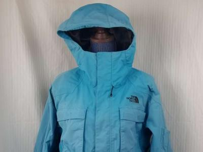 TNF The North Face HyVent Parka Hooded Mens Large Ski Snowboard Coat Waterproof Breathable