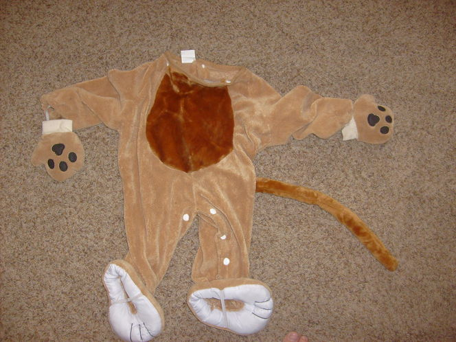 Lion or Tiger Halloween costume size 12-24 months, with no mask or face part. for sale in Saratoga Springs , UT