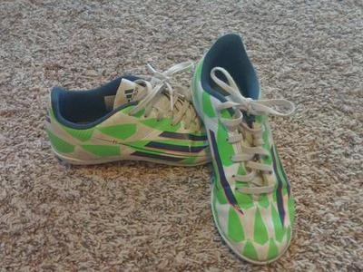 Boys size around 5-8  futsal and soccer cleats