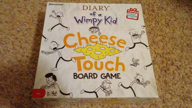 The Cheese Touch Game, Diary Wimpy Kid for sale in Saratoga Springs , UT