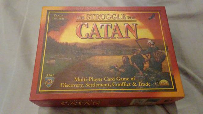 Struggle For Catan Settlers not the original for sale in Saratoga Springs , UT