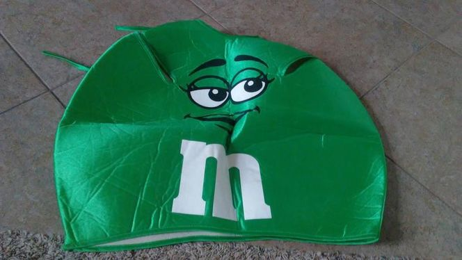 Small Green M&M Halloween Costume for sale in Saratoga Springs , UT