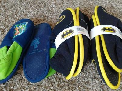 New and used batman toy story yoda slippers