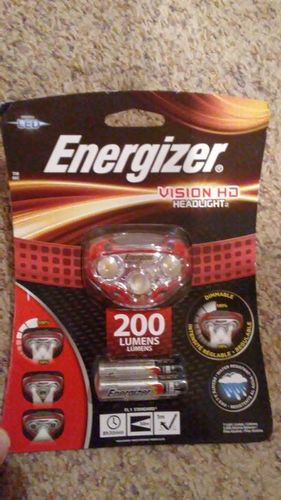 Energizer Vision HD Headlight Head lamp camping for sale in Saratoga Springs , UT