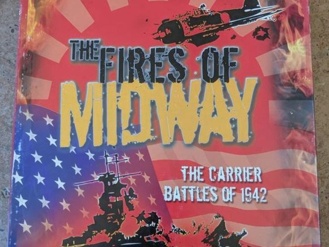Fires of Midway war board game for sale in Saratoga Springs , UT