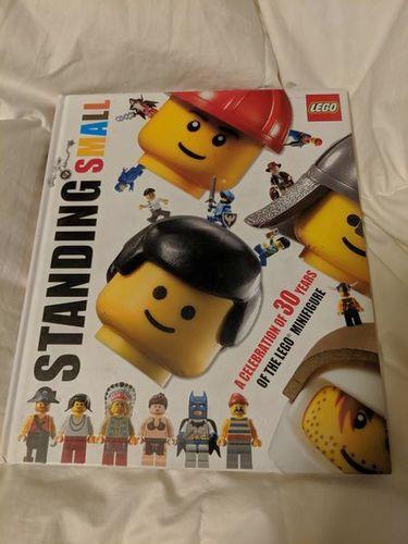Lego standing small hardbook book for sale in Saratoga Springs , UT
