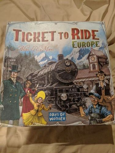 Ticket to Ride Europe board game for sale in Saratoga Springs , UT