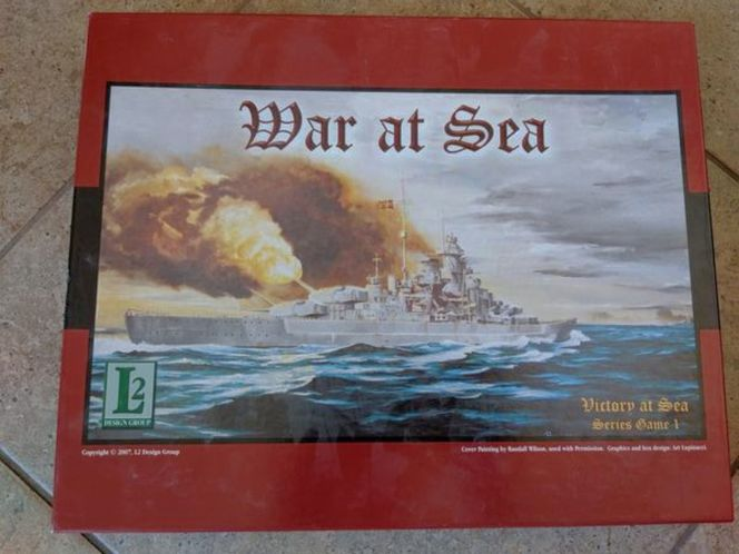 War at sea 3rd edition board game for sale in Saratoga Springs , UT