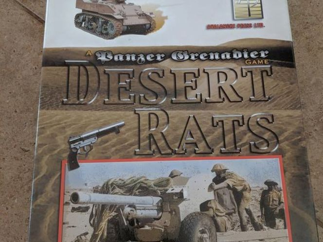 AVALANCHE PRESS DESERT RATS PANZER GRENADIER GAME for sale in Saratoga Springs , UT