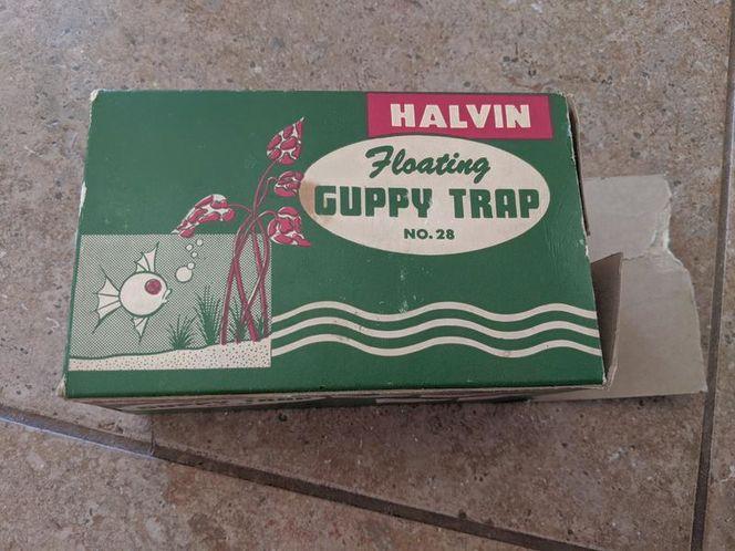 Vintage halvin guppy fish trap for sale in Saratoga Springs , UT