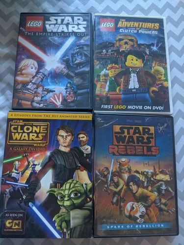 Star wars clone rebel Lego dvd Clutch powers for sale in Saratoga Springs , UT