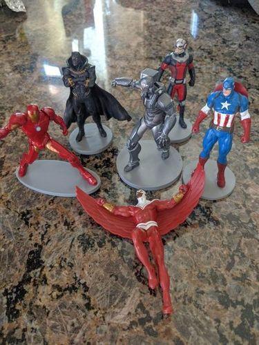 Disney marvel figures Ironman Ant-Man Black panther for sale in Saratoga Springs , UT