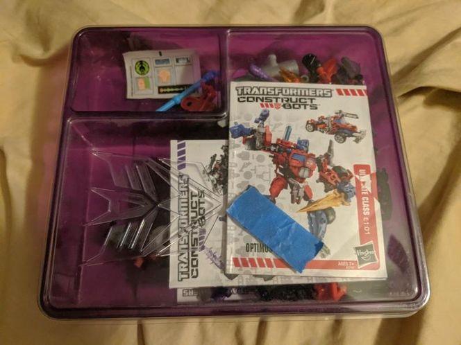 Hasbro Transformers Construct Bots Megatron Ultima for sale in Saratoga Springs , UT