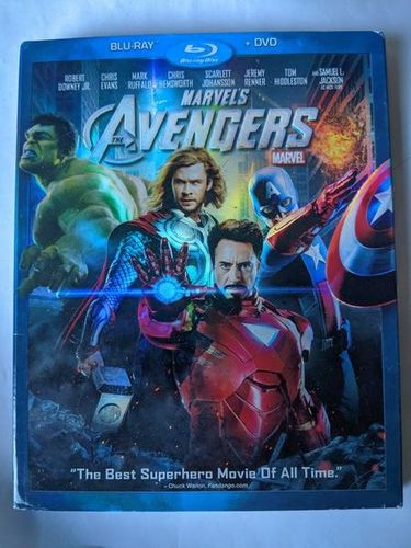 Marvels The Avengers Blu-Ray DVD 2012 Brand New for sale in Saratoga Springs , UT
