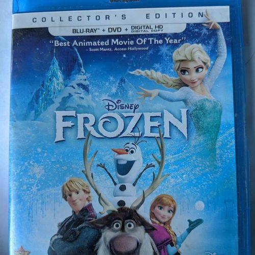 Frozen Blu-ray+ DVD 2014, 2-Disc Set for sale in Saratoga Springs , UT
