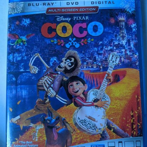 Coco (Blu-ray/DVD, 2018, 2-Disc) No Digital  for sale in Saratoga Springs , UT