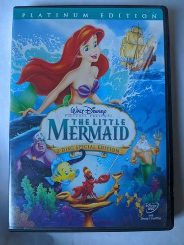 Disney The Little Mermaid [Two-Disc Platinum Edition] dvd for sale in Saratoga Springs , UT