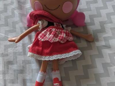 Scarlet Red Riding Hood  MGA Lalaloopsy Doll Full
