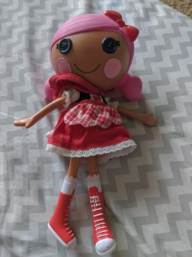 Scarlet Red Riding Hood  MGA Lalaloopsy Doll Full for sale in Saratoga Springs , UT