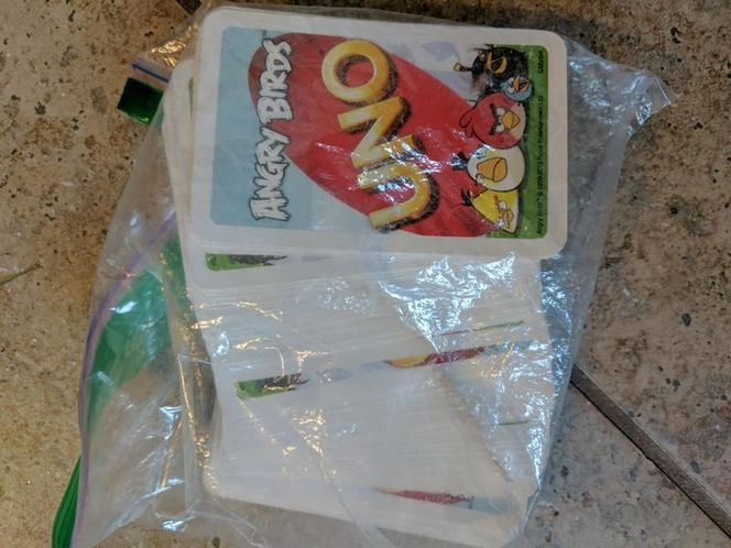 Angry birds uno for sale in Saratoga Springs , UT