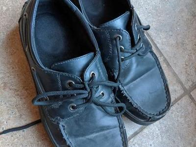 Boys Church dress shoes size 8