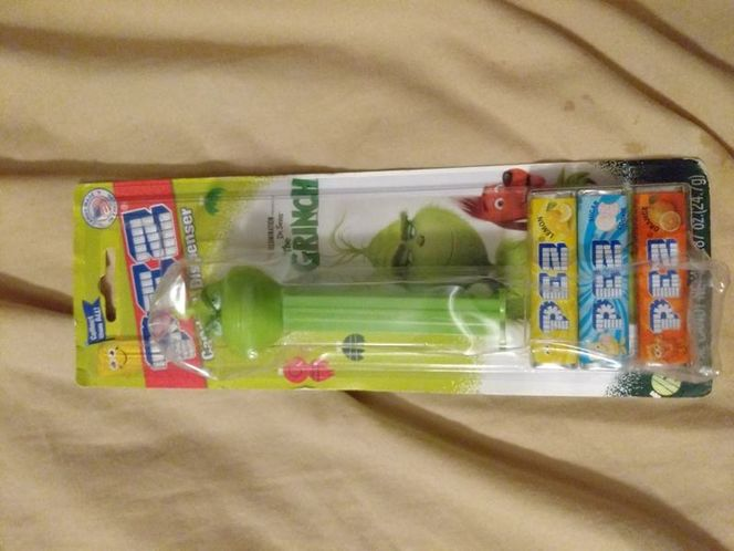New! Pez Dr Seuss The Grinch Dispenser Christmas for sale in Saratoga Springs , UT