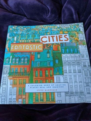 Fantastic Cities: A Coloring Book of Amazing Place for sale in Saratoga Springs , UT