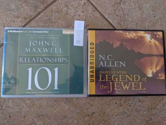 Lds books on cd $10 each for sale in Saratoga Springs , UT