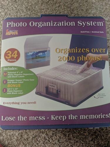 Cropper Hopper Photo Organizer Storage Case Acid Free Organization System NEW for sale in Saratoga Springs , UT