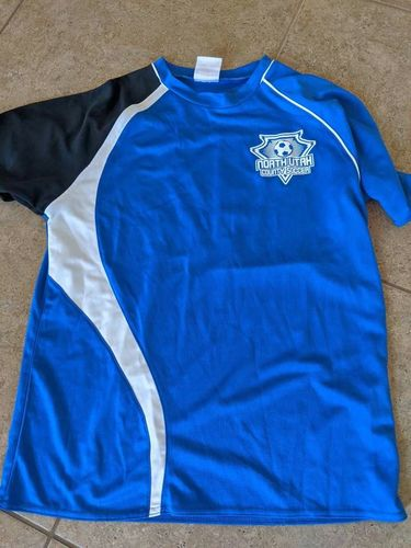 NCUS north county utah soccer jersey youth smallall for sale in Saratoga Springs , UT